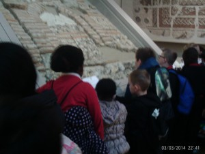 Roman buildings materials