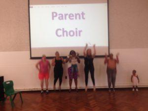 Parent Choir Jump!