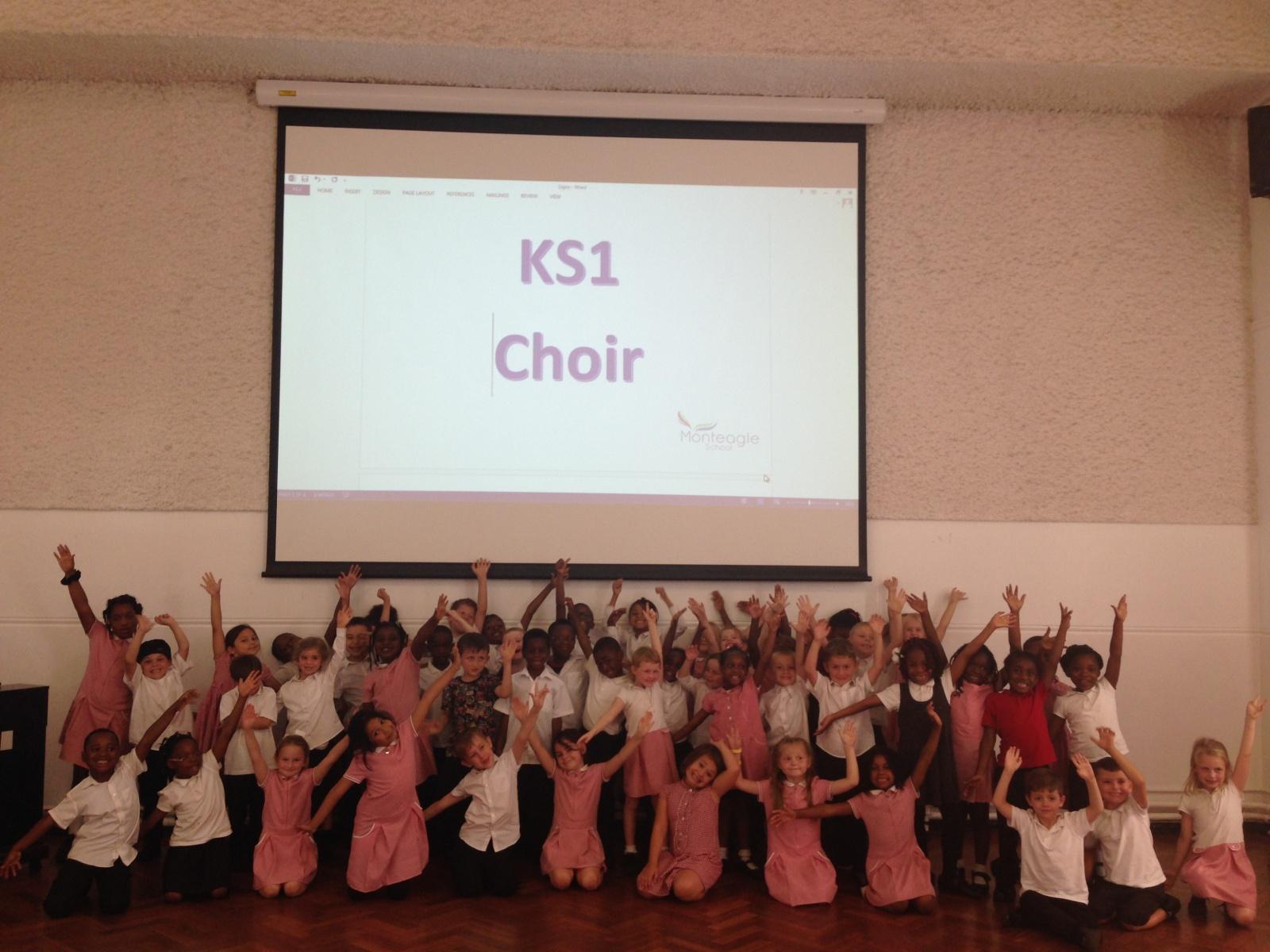 KS1 Choir